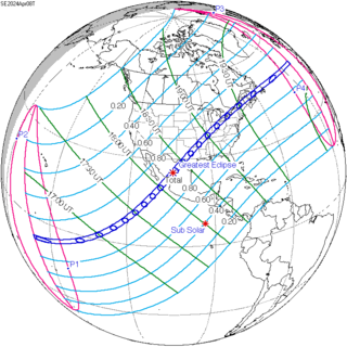 Eclipse 2024 Map